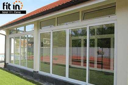 Alumil klizni sistem za zastakljivanje terasa