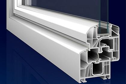 Presek profila PVC stolarije