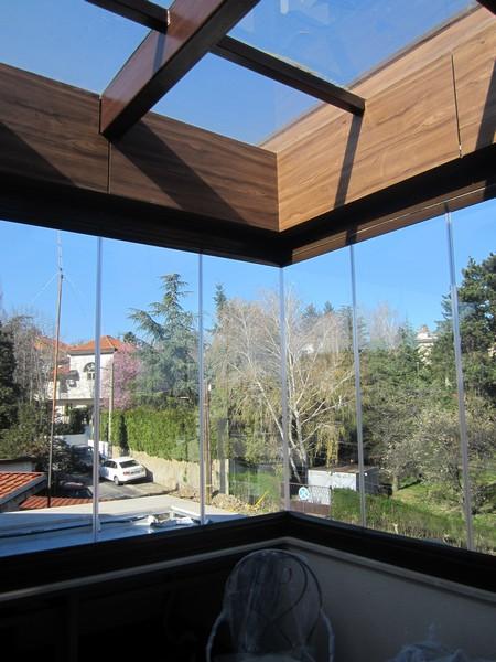 vizyon klizno-preklapajući sistem za zatvaranje terasa