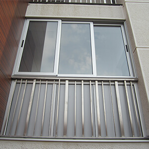 Zastakljena terasa alumil kliznim sistemom