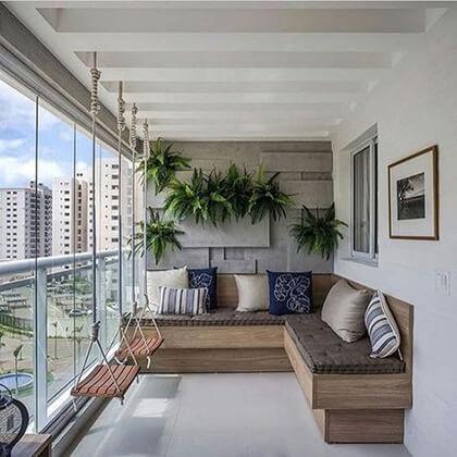 Uredjenje terase i balkona